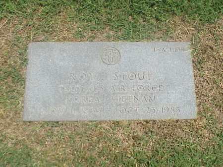 STOUT (VETERAN 2 WARS), ROY J - Pulaski County, Arkansas   ROY J STOUT (VETERAN 2 WARS) - Arkansas Gravestone Photos