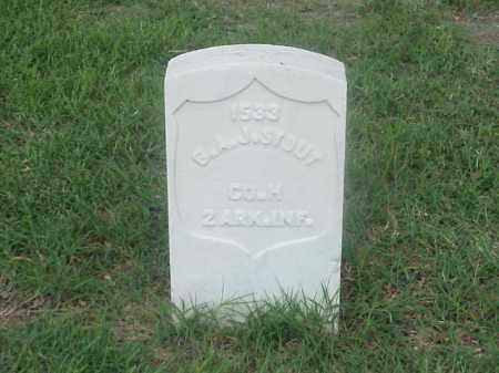 STOUT (VETERAN UNION), G A J - Pulaski County, Arkansas | G A J STOUT (VETERAN UNION) - Arkansas Gravestone Photos