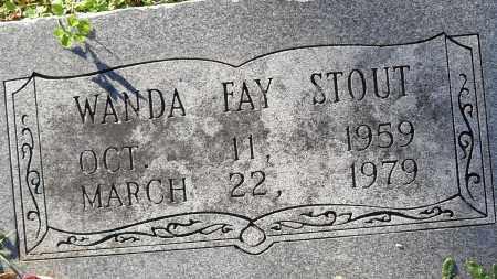 STOUT, WANDA FAY - Pulaski County, Arkansas | WANDA FAY STOUT - Arkansas Gravestone Photos