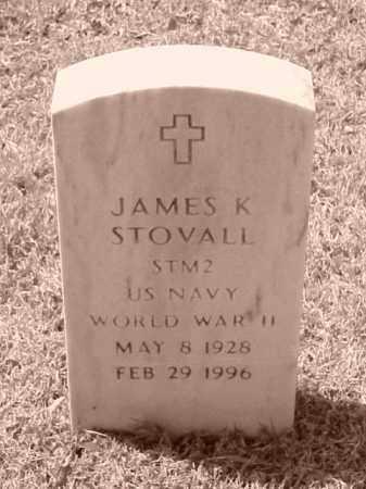 STOVALL (VETERAN WWII), JAMES K - Pulaski County, Arkansas   JAMES K STOVALL (VETERAN WWII) - Arkansas Gravestone Photos