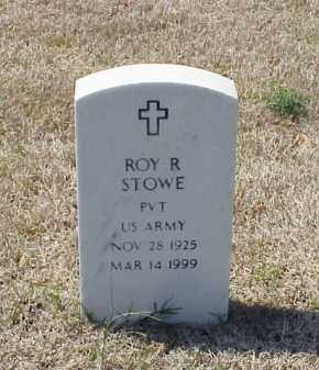 STOWE (VETERAN), ROY R - Pulaski County, Arkansas | ROY R STOWE (VETERAN) - Arkansas Gravestone Photos