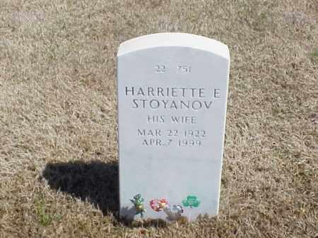 STOYANOV, HARRIETTE E. - Pulaski County, Arkansas | HARRIETTE E. STOYANOV - Arkansas Gravestone Photos