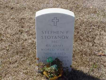 STOYANOV (VETERAN WWII), STEPHEN F - Pulaski County, Arkansas   STEPHEN F STOYANOV (VETERAN WWII) - Arkansas Gravestone Photos