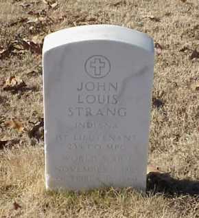 STRANG (VETERAN WWI), JOHN LOUIS - Pulaski County, Arkansas | JOHN LOUIS STRANG (VETERAN WWI) - Arkansas Gravestone Photos