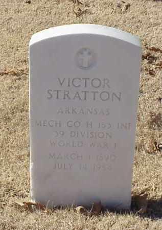 STRATTON (VETERAN WWI), VICTOR - Pulaski County, Arkansas | VICTOR STRATTON (VETERAN WWI) - Arkansas Gravestone Photos