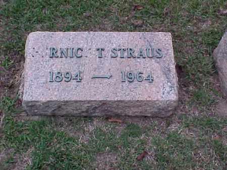 STRAUS, RNIC T - Pulaski County, Arkansas   RNIC T STRAUS - Arkansas Gravestone Photos