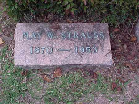 STRAUSS, MAY W - Pulaski County, Arkansas | MAY W STRAUSS - Arkansas Gravestone Photos