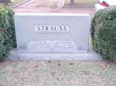 STRAUSS, ELEANOR P - Pulaski County, Arkansas   ELEANOR P STRAUSS - Arkansas Gravestone Photos
