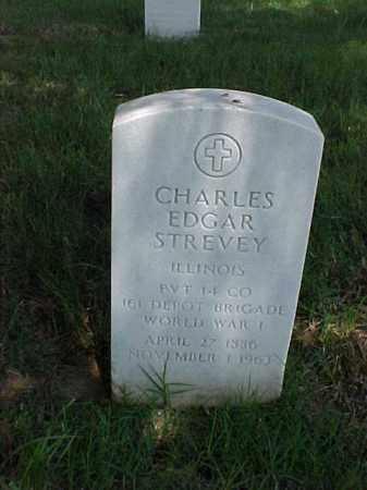 STREVEY (VETERAN WWI), CHARLES EDGAR - Pulaski County, Arkansas | CHARLES EDGAR STREVEY (VETERAN WWI) - Arkansas Gravestone Photos