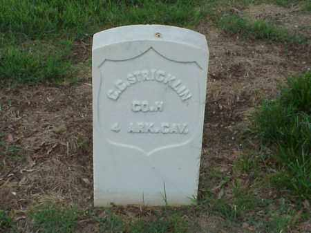 STRICKLIN (VETERAN UNION), C C - Pulaski County, Arkansas | C C STRICKLIN (VETERAN UNION) - Arkansas Gravestone Photos