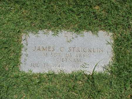 STRICKLIN (VETERAN VIET), JAMES C - Pulaski County, Arkansas | JAMES C STRICKLIN (VETERAN VIET) - Arkansas Gravestone Photos
