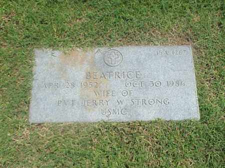 STRONG, BEATRICE - Pulaski County, Arkansas | BEATRICE STRONG - Arkansas Gravestone Photos