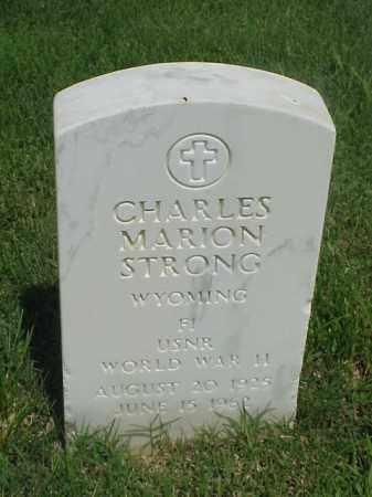 STRONG (VETERAN WWII), CHARLES MARION - Pulaski County, Arkansas   CHARLES MARION STRONG (VETERAN WWII) - Arkansas Gravestone Photos