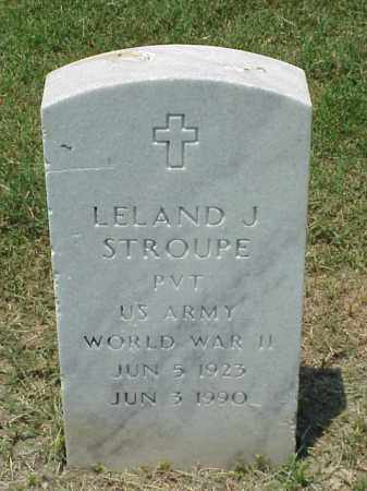 STROUPE (VETERAN WWII), LELAND J - Pulaski County, Arkansas   LELAND J STROUPE (VETERAN WWII) - Arkansas Gravestone Photos