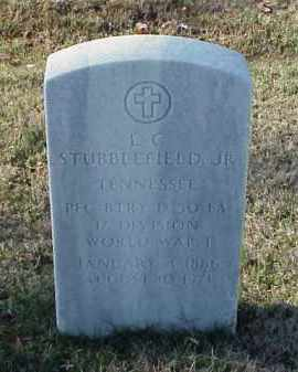 STUBBLEFIELD, JR (VETERAN WWI), L C - Pulaski County, Arkansas | L C STUBBLEFIELD, JR (VETERAN WWI) - Arkansas Gravestone Photos