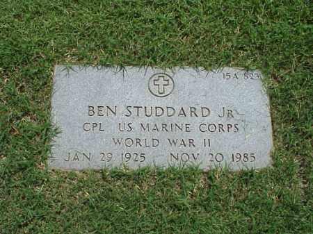 STUDDARD, JR (VETERAN WWII), BEN - Pulaski County, Arkansas | BEN STUDDARD, JR (VETERAN WWII) - Arkansas Gravestone Photos