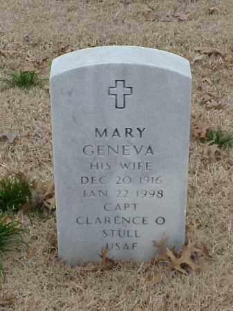 STULL, MARY GENEVA - Pulaski County, Arkansas   MARY GENEVA STULL - Arkansas Gravestone Photos