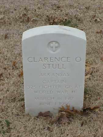 STULL (VETERAN 2 WARS), CLARENCE O - Pulaski County, Arkansas   CLARENCE O STULL (VETERAN 2 WARS) - Arkansas Gravestone Photos