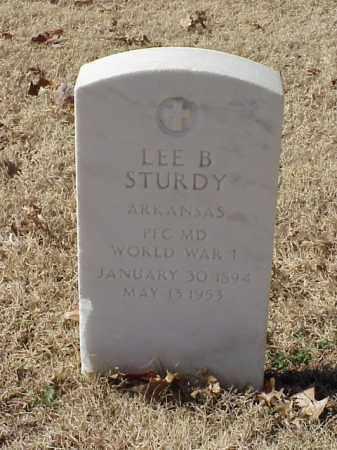 STURDY (VETERAN WWI), LEE B - Pulaski County, Arkansas | LEE B STURDY (VETERAN WWI) - Arkansas Gravestone Photos