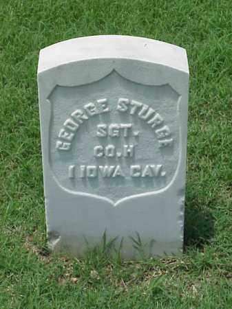 STURGE (VETERAN UNION), GEORGE - Pulaski County, Arkansas   GEORGE STURGE (VETERAN UNION) - Arkansas Gravestone Photos