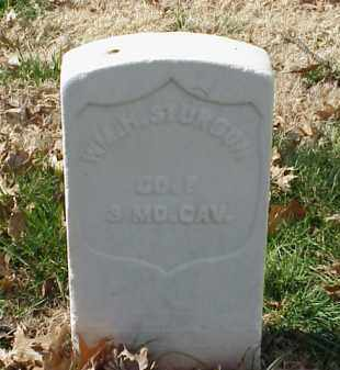 STURGON (VETERAN UNION), WILLIAM H - Pulaski County, Arkansas | WILLIAM H STURGON (VETERAN UNION) - Arkansas Gravestone Photos
