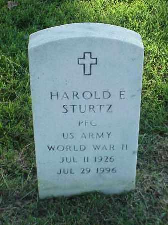 STURTZ (VETERAN WWII), HAROLD E - Pulaski County, Arkansas   HAROLD E STURTZ (VETERAN WWII) - Arkansas Gravestone Photos