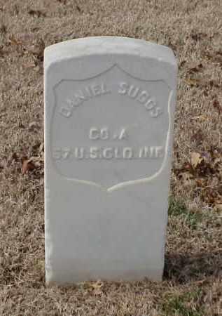 SUGGS (VETERAN UNION), DANIEL - Pulaski County, Arkansas | DANIEL SUGGS (VETERAN UNION) - Arkansas Gravestone Photos