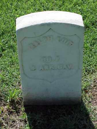 SUIT (VETERAN UNION), RALPH - Pulaski County, Arkansas | RALPH SUIT (VETERAN UNION) - Arkansas Gravestone Photos