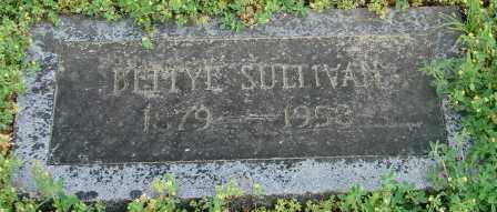 SULLIVAN, BETTYE - Pulaski County, Arkansas | BETTYE SULLIVAN - Arkansas Gravestone Photos