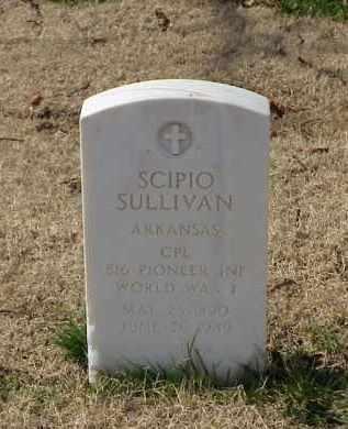 SULLIVAN (VETERAN WWI), SCIPIO - Pulaski County, Arkansas | SCIPIO SULLIVAN (VETERAN WWI) - Arkansas Gravestone Photos