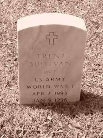 SULLIVAN (VETERAN WWI), TRENT - Pulaski County, Arkansas | TRENT SULLIVAN (VETERAN WWI) - Arkansas Gravestone Photos