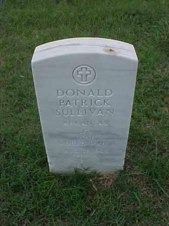 SULLIVAN (VETERAN WWII), DONALD PATRICK - Pulaski County, Arkansas | DONALD PATRICK SULLIVAN (VETERAN WWII) - Arkansas Gravestone Photos