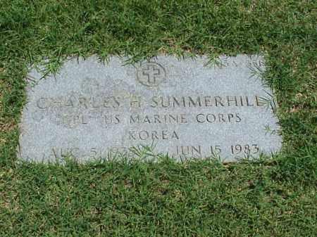 SUMMERHILL (VETERAN KOR), CHARLES H - Pulaski County, Arkansas | CHARLES H SUMMERHILL (VETERAN KOR) - Arkansas Gravestone Photos
