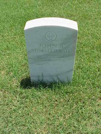 SUMMERS, JR (VETERAN WWII), JOHN R - Pulaski County, Arkansas | JOHN R SUMMERS, JR (VETERAN WWII) - Arkansas Gravestone Photos
