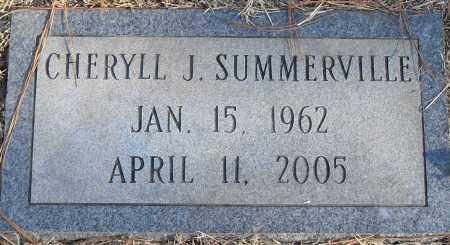 SUMMERVILLE, CHERYLL J - Pulaski County, Arkansas | CHERYLL J SUMMERVILLE - Arkansas Gravestone Photos