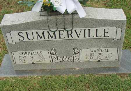SUMMERVILLE, WARDELL - Pulaski County, Arkansas | WARDELL SUMMERVILLE - Arkansas Gravestone Photos