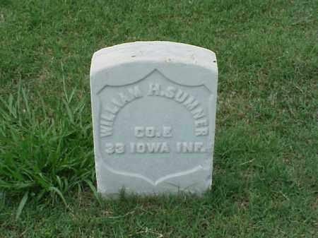 SUMNER (VETERAN UNION), WILLIAM H - Pulaski County, Arkansas   WILLIAM H SUMNER (VETERAN UNION) - Arkansas Gravestone Photos