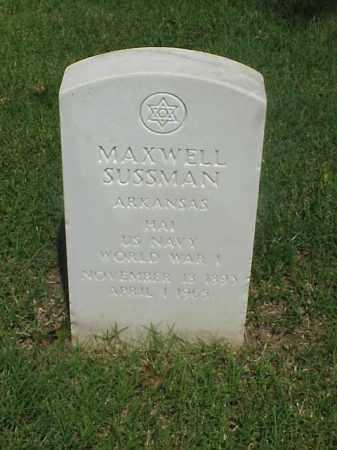 SUSSMAN (VETERAN WWI), MAXWELL - Pulaski County, Arkansas | MAXWELL SUSSMAN (VETERAN WWI) - Arkansas Gravestone Photos