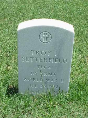 SUTTERFIELD (VETERAN WWII), TROY L - Pulaski County, Arkansas | TROY L SUTTERFIELD (VETERAN WWII) - Arkansas Gravestone Photos