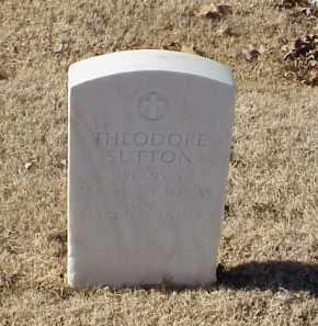 SUTTON (VETERAN WWI), THEODORE - Pulaski County, Arkansas   THEODORE SUTTON (VETERAN WWI) - Arkansas Gravestone Photos