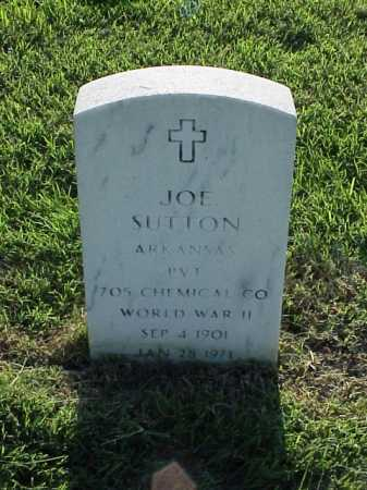 SUTTON (VETERAN WWII), JOE - Pulaski County, Arkansas   JOE SUTTON (VETERAN WWII) - Arkansas Gravestone Photos