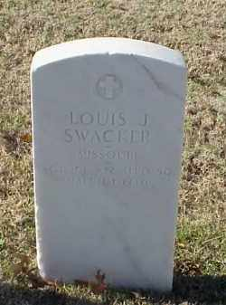 SWACKER (VETERAN WWI), LOUIS J - Pulaski County, Arkansas | LOUIS J SWACKER (VETERAN WWI) - Arkansas Gravestone Photos