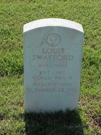 SWAFFORD (VETERAN WWII), LOUIS - Pulaski County, Arkansas   LOUIS SWAFFORD (VETERAN WWII) - Arkansas Gravestone Photos