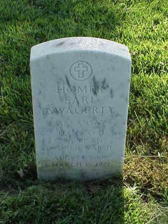 SWAGERTY (VETERAN WWII), HOMER EARL - Pulaski County, Arkansas   HOMER EARL SWAGERTY (VETERAN WWII) - Arkansas Gravestone Photos