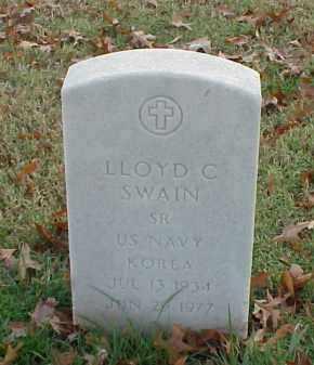 SWAIN (VETERAN KOR), LLOYD C - Pulaski County, Arkansas | LLOYD C SWAIN (VETERAN KOR) - Arkansas Gravestone Photos