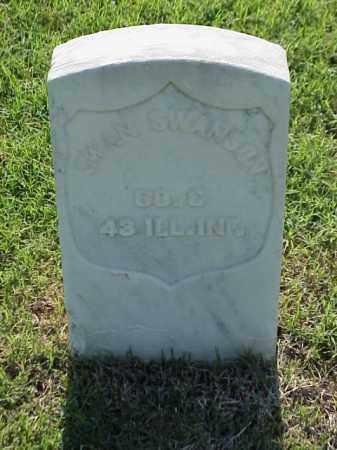 SWANSON (VETERAN UNION), SWAN - Pulaski County, Arkansas | SWAN SWANSON (VETERAN UNION) - Arkansas Gravestone Photos