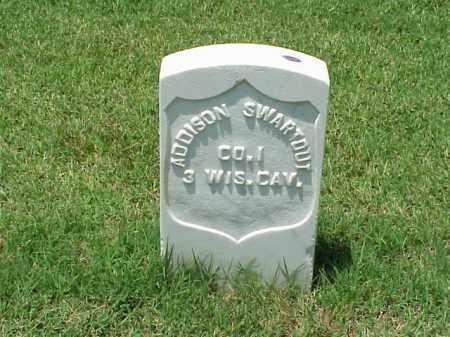 SWARTOUT (VETERAN UNION), ADDISON - Pulaski County, Arkansas | ADDISON SWARTOUT (VETERAN UNION) - Arkansas Gravestone Photos