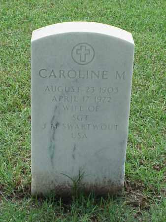 SWARTWOUT, CAROLINE M - Pulaski County, Arkansas | CAROLINE M SWARTWOUT - Arkansas Gravestone Photos
