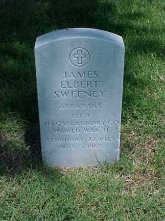 SWEENEY (VETERAN WWII), JAMES ELBERT - Pulaski County, Arkansas | JAMES ELBERT SWEENEY (VETERAN WWII) - Arkansas Gravestone Photos