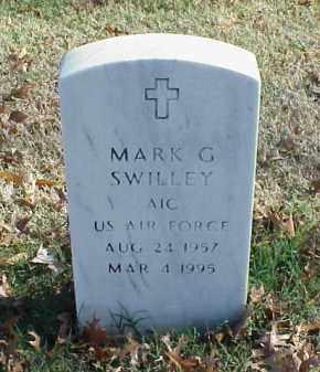 SWILLEY (VETERAN), MARK G - Pulaski County, Arkansas | MARK G SWILLEY (VETERAN) - Arkansas Gravestone Photos